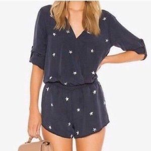 Cloth & Stone star romper Anthropologie